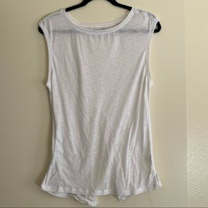 White Zella workout Tank Top